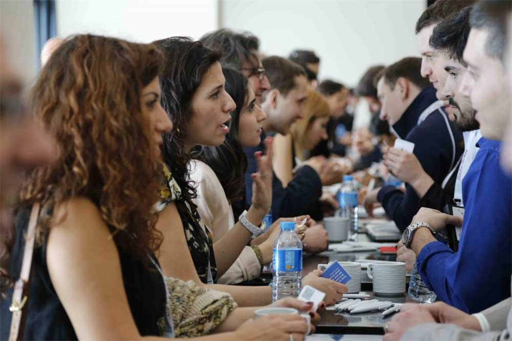 Speed networking formato de reuniones